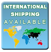 We ship internationally.