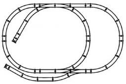 4x8 slot car track for diagrams, ho scale layout diagrams, atlas switch  wiring,