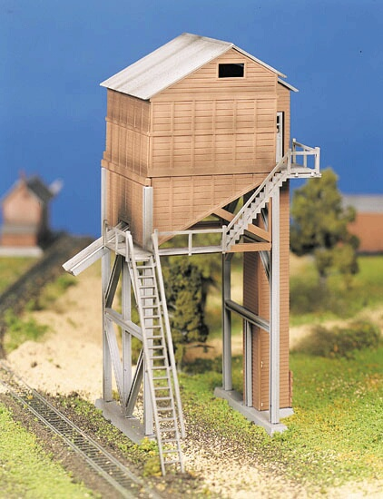 Bachmann Plasticville U S A ® Classic Kits -- Coaling Tower - O