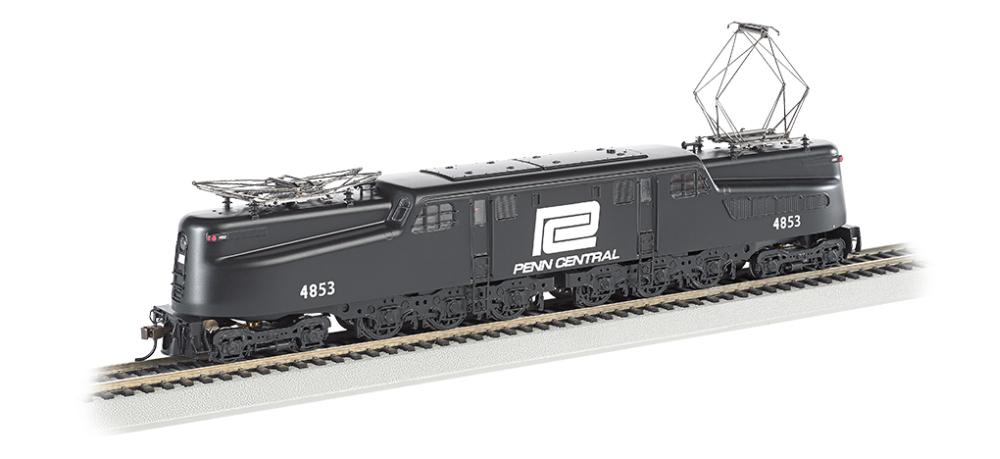 Más asequible Bachmann GG1 Eléctrica con Sonido & DCC DCC DCC  Central Penn 4853 (Negro, Blanco) - HO  barato en alta calidad