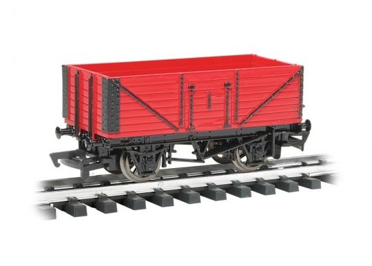 Bachmann Open Wagon - Ready to Run - Thomas & Friends™ -- Red - G