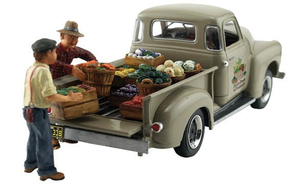 Woodland Scenics Paul's Fresh Produce - Assembled - AutoScenes® - HO  - AS5561