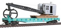 Walthers Trainline HO Scale Log Dump Car//3 Logs Canadian Pacific//CP Rail #304866